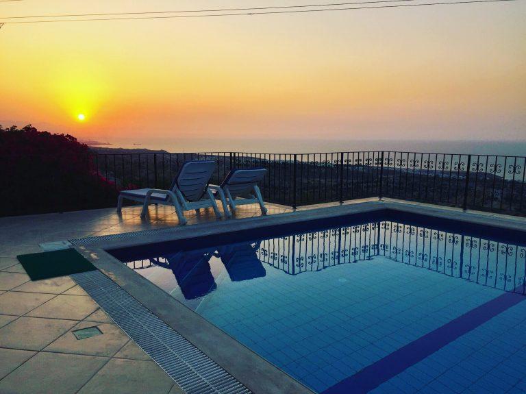 Girne Karaağaç kiralık villa