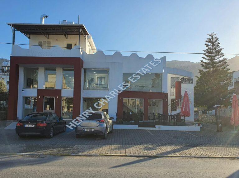 Girne Karaoğlanoğlu kiralık bina